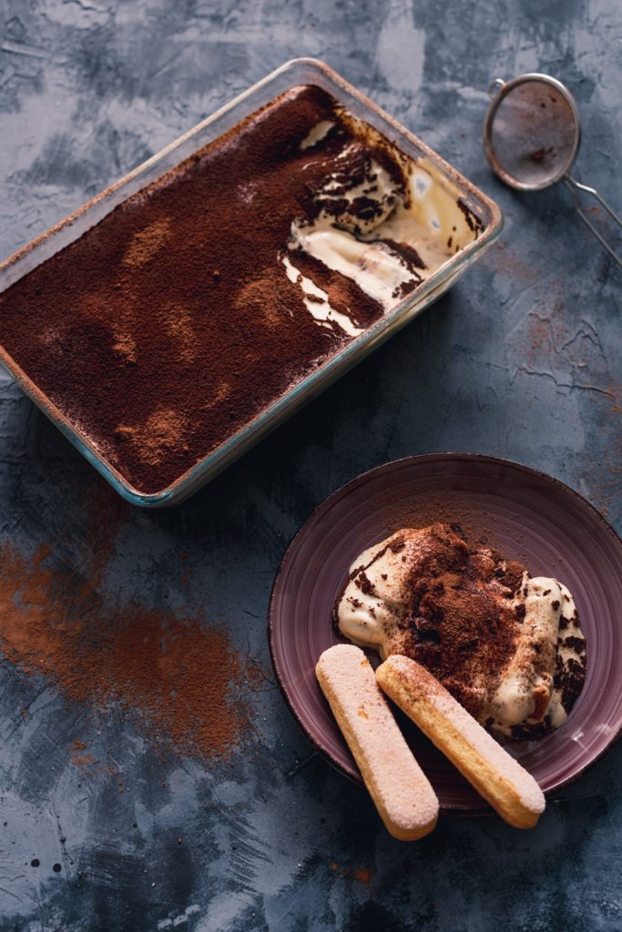 no bake desserts quick and easy, tiramisu on a plate