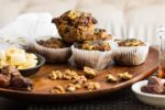 Banana, Date and Espresso Muffins