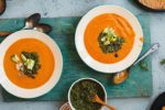 Rustic Sweet Potato & Bean Soup
