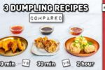 Dumplings, Three Easy Ways
