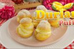 Creamy, Rich Durian Puffs!