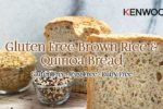 Fresh and Healthy Brown Rice and Quinoa Loaf Bread