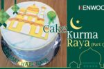 Cake Kurma Raya or Dates Cake