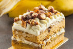 Caramel Banana Coffee Cake