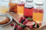 How To: Brew Homemade Flavoured Kombucha! Peaches, Ginger, Strawberries, oh my!