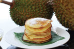 Fluffy Durian Pancakes For Durian Lovers!