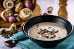 Rich, Earthy and Flavourful: Truffled Mushroom Soup