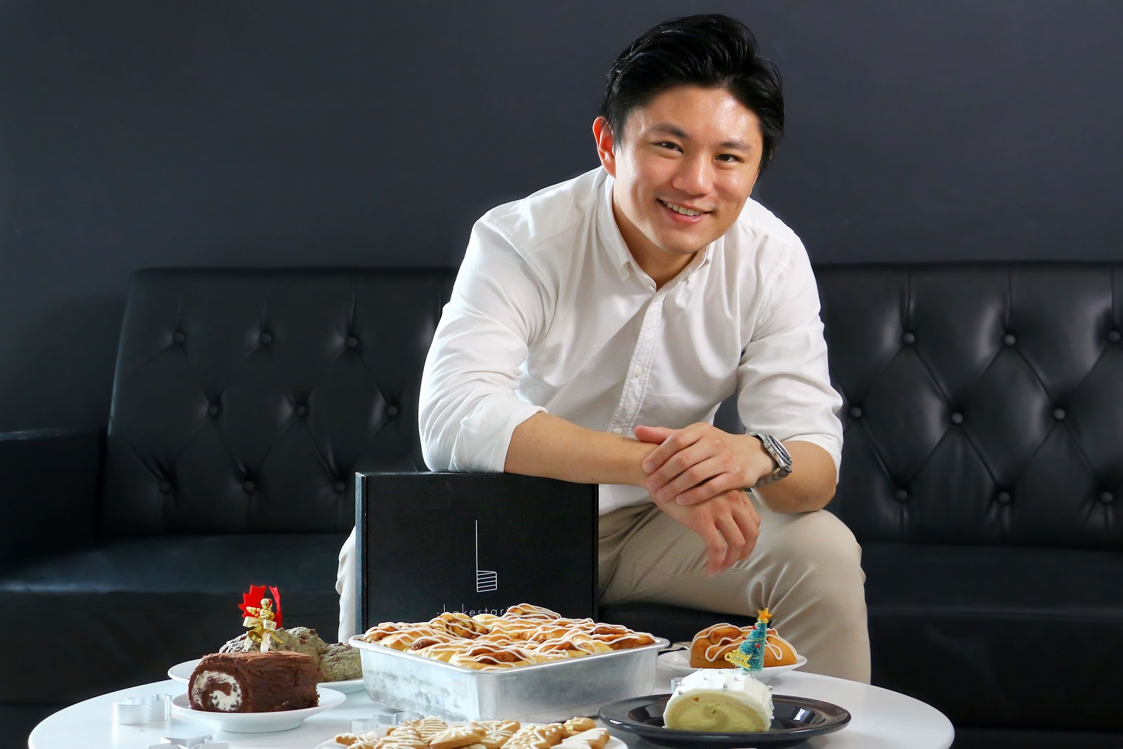 Gregory Ong is the founder of Bakestarters, a Singaporean company that creates baking kits complete with step-by-step instruction cards and video tutorials.