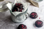 The Perfect Christmas Snack: Raspberry Marzipan Drops