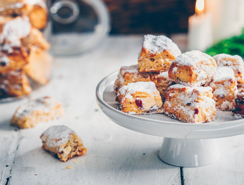 Mini Stollen Bites: Tastes Like Christmas! 🎄