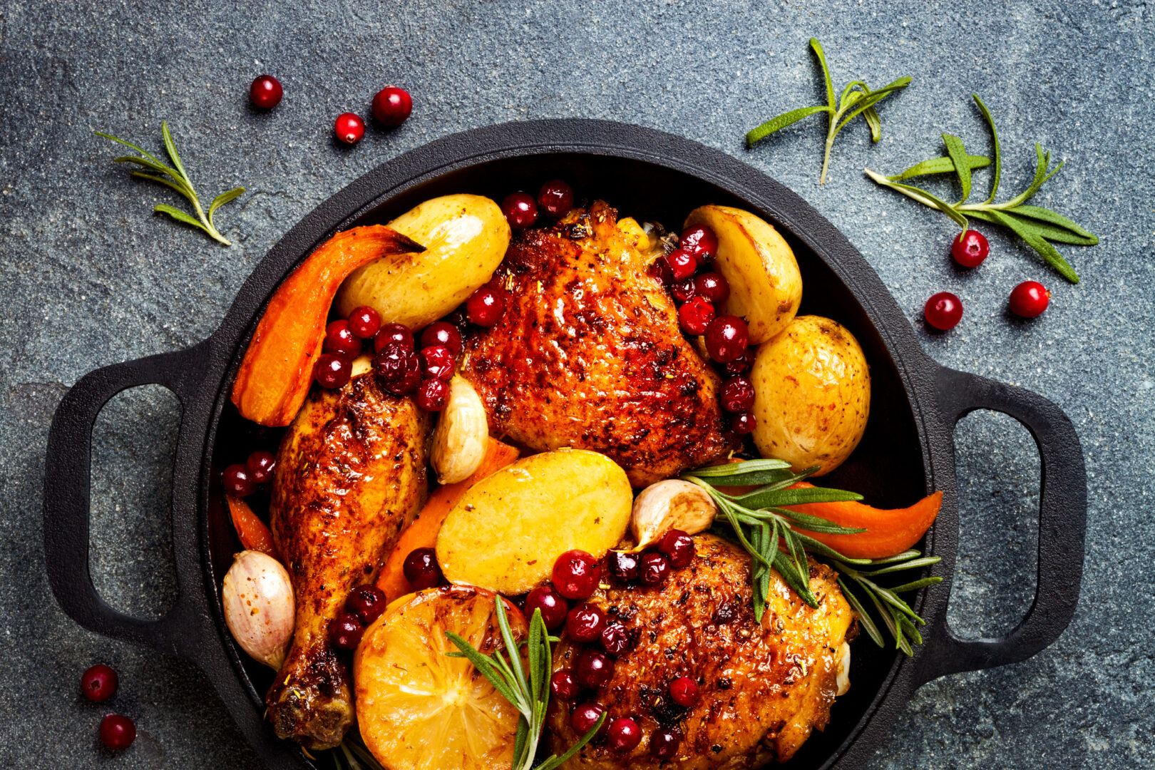Healthy Chicken Recipes: The Wondrous One-Pan Chicken and Vegetable Skillet
